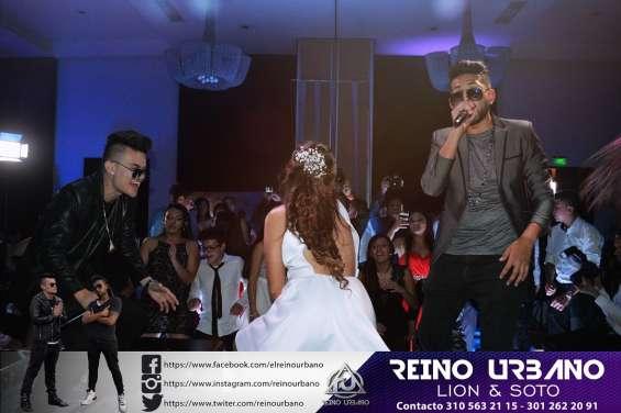 Show de champeta urbana en bogota - reino urbano - eventos empresariales y matrimonios ru