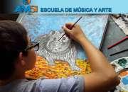 CLASES DE DIBUJO, PINTURA, ESCULTURA, MÚSICA - ONLINE