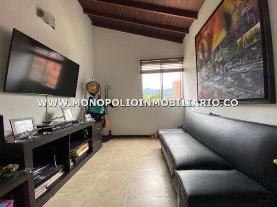 Apartamento duplex en renta - sector el esmeraldal, envigado cod: 22308