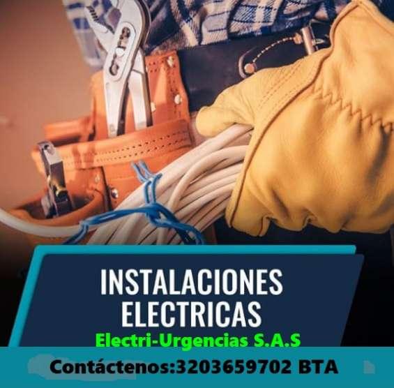 Montajes electricos,electricistas,tableros electricos,urgencias,apagones.