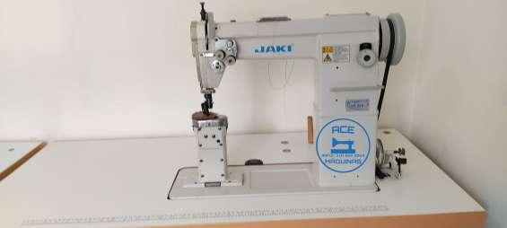 Máquina de coser de poste marca jaki